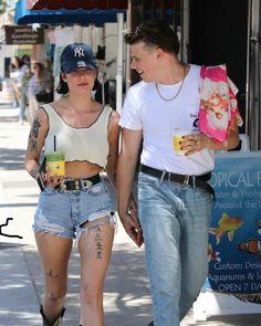 Cute Relationship Goals, Cute Relationships, Celebrity Look, Celebrity Crush, Halsey Street, Dominic Harrison, Famous Couples, Tumblr Girls, Twenty One Pilots