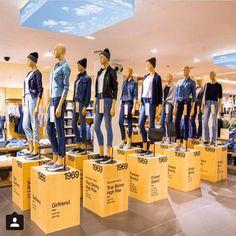 "GAP, in-store, ""The Class of 1969"", pinned by Ton van der Veer"