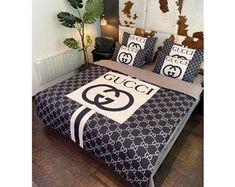 Black Duvet Cover, Double Duvet Covers, Bed Covers, Duvet Cover Sets, Bed Sheet Sets, Bed Sheets, Brown Bedroom Decor, Duvet Bedding Sets, Bed Design