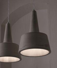 Lampada a sospensione in cemento EOLO Collezione Settenani by Karman   design Matteo Ugolini