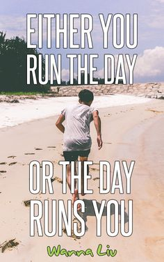 Sometimes a workout may not go as planned or you just may not feel like going out early in the morning to complete your run. Lace up those sneakers because we've rounded up some of the best motivational running quotes found on the web! #wannaliv