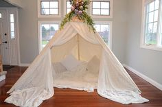Items similar to TEEPEE ADULT; Yasmine on Etsy Wedding Evening Gown, Evening Gowns, Wedding Dresses, Cozy Nook, Gowns Of Elegance, Prom Shoes, Boho Decor, Wedding Details, Boho Chic