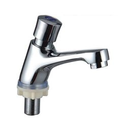 Hand press type sink basin faucet hotel, Public place wash basin faucet, Single cold toilet basin faucet, Free Shipping