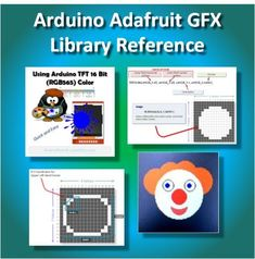 An Illustrated Approach The Adafruit GFX library is a widely used interface for Arduino TFT displays. The routines offered in this library will jump start the graphical display portion of your pr… Arduino Books, Simple Arduino Projects, User Guide, New Job, Facebook Sign Up, Fun, Bench, Diy Tools, Computers