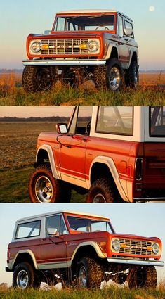 Vintage Trucks Own a Vintage Ford Bronco Classic Bronco, Classic Ford Broncos, Ford Classic Cars, Classic Chevy Trucks, Diesel Trucks, Cool Trucks, Pickup Trucks, Lifted Trucks, Old Ford Bronco