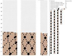 18 around tubular bead crochet rope pattern. Bead Crochet Patterns, Bead Crochet Rope, Crochet Bracelet, Peyote Patterns, Beading Patterns, Beaded Crochet, Seed Bead Jewelry, Bead Jewellery, Beaded Jewelry