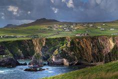 Slea Head Pier, on the Dingle Peninsula, County Kerry, Ireland