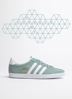 online retailer fa01f 2130c adidas Originals Gazelle OG  Light Green