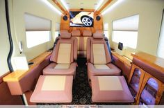 passenger vans custom made | Available Features