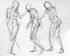 drawings of movement human - Google Search