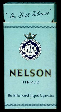 """Pattreiouex """"Nelson Tipped"""" cigarettes, complete packet, :-)"""