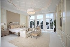 MASTER BEDROOM DESIGNS On Pinterest Luxury Master Bedroom Master