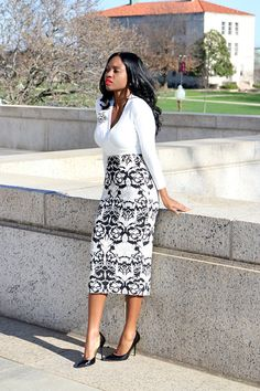 Prissysavvy: Black and White Workstyle