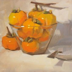 """Persimmon Party"" by Carol Marine"