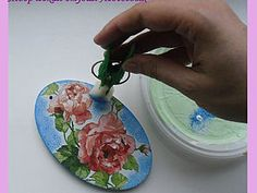 Удобная губка для работы в технике декупаж   Ярмарка Мастеров - ручная работа, handmade