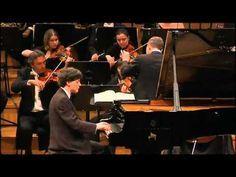 REMI GENIET plays MOZART - Piano Concerto 20 in D minor   2013 - YouTube