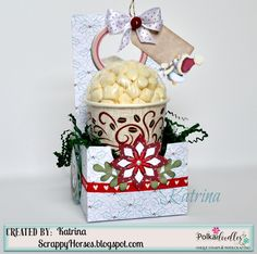Introducing Winnie White Christmas from Polkadoodles !  This is such a festive new collection with papers, sentiments, tags, and...