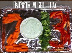 Nye veggie tray idea