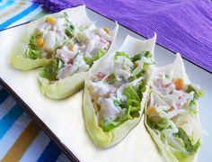 Barquitas de endivias -Recetas fáciles, cocina andaluza y del mundo. » Divina Cocina