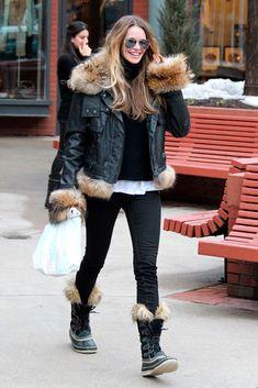 fe50d9dfa9940 ¿Próximo destino  ¡A la nieve con el  look  más  trendy ! Sorel Snow  BootsWinter ...