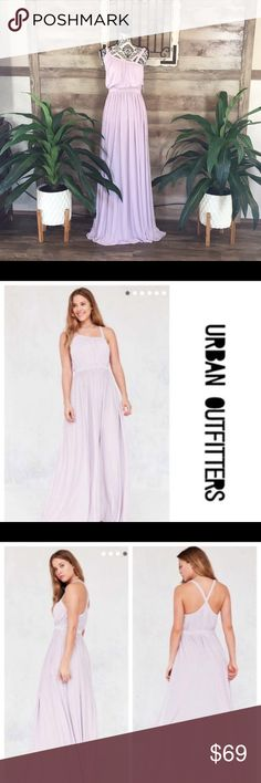 4c1886e0372 NWT  109 Urban Outfitters Lavender Maxi Dress
