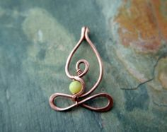~ H E A R T ~ S P A C E ~ YOGI ~ ( ( ( G~R ~A ~T ~I~ T ~U~ D ~E ) ) ) A Little Yogi © in Pure Copper Artist: Bibi   ...A cute Little Yogi sitting in Lotus with hands in Gyan Mudra, meditating in the Heart Space, soaking up vibrations of Universal Love and emanating ripples of ((((((((Gratitude)))))))    Details:    ~ Little Yogi is approximately 1 1/4 long, can be another size upon request.   Hand made in recycled Copper   C H A I N options:  ~ A solid copper antiqued rolo chain, 1.5mm links…