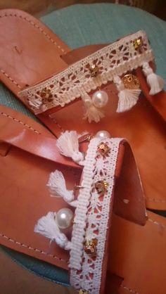 Handmade sandals by Isidora Greek sandals, white sandals