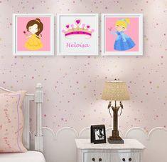 Alice, Gallery Wall, Disney Ideas, Home Decor, Nursery Decor, Disney Princess Bedroom, Princess Room Decor, Disney Princess Room, Decorating Rooms