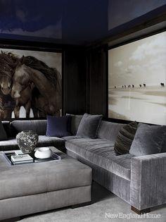 Great big art, lacquer walls