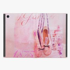 It's cute! This Vintage Pink Watercolor Ballerina Dancer Ballet iPad Mini Covers is completely customizable and ready to be personalized or purchased as is. Click and check it out!