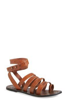 Free People 'Sunever' Leather Gladiator Sandal (Women) | Nordstrom