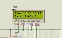 digital clock circuit & project using pic microcontroller Arduino, Pic Microcontroller, Real Time Clock, Block Diagram, Digital Clocks, Circuit Projects, Circuit Diagram, Electronics Projects, Coding