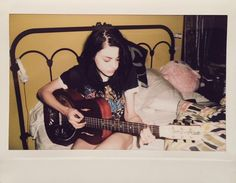 Frances Bean Cobain - sweet, simple, reminds me of my college days