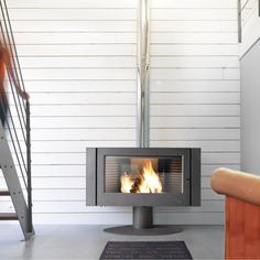 Poêle à bois invicta poele made in Antaya anthracite 6114-44, 12kW