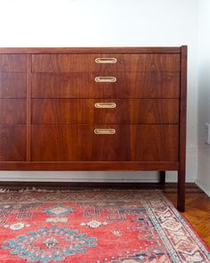 Dresser restoration love! I need to do this with our kitchen sideboard.