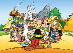 Asterix en zijn dorpsgenoten, getekend en geschreven door Goscinny & Uderzo
