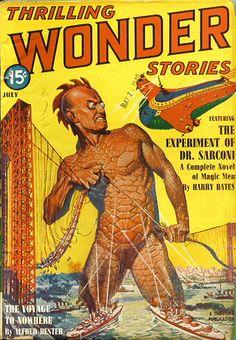Thrilling Wonder Stories 1940-07