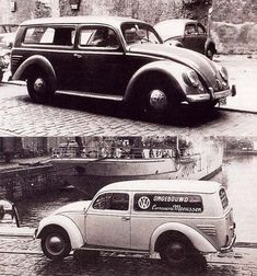 OG | 1960 Volkswagen / VW 1200 Combi | Designed by the belgian coachbuilder Meeussen, only 6 models were built.