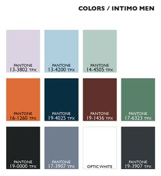 Lenzing Color Trends Spring/Summer 2015 - Color Usage Mens Underwear | Posted By Senay GOKCEN, Editor-in-Chief | Fashion Trendsetter