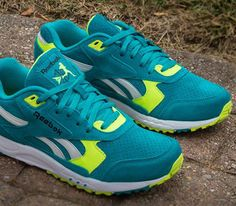 Reebok Inferno – Teal / Neon