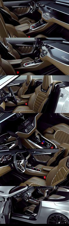 INVISIUM CONCEPT CAR 2012- LEGARTO by Paweł Czyżewski, via Behance