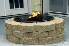 Always Chasing Life: DIY Fire Pit