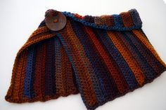 Fall Into Color Cowl - Free crochet pattern by b.hooked Crochet