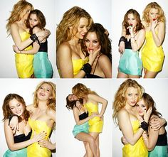 serena and blair gossip girl... Gotta love them