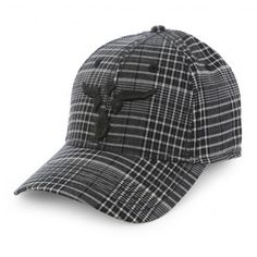 Cornell's Country Store Wrangler® 20X® Black/White Baseball Flex Fit Style Cap