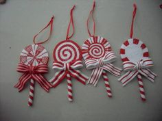 Sell Polymer Clay pendant ornament | Christmas