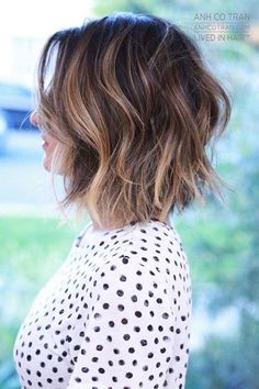 Are you going to balayage hair for the first time and know nothing about this technique? We've gathered everything you need to know about balayage, check! Choppy Bob Hairstyles, Mom Hairstyles, Hairstyle Ideas, Hairstyles 2018, Trending Hairstyles, Latest Hairstyles, Wavy Medium Hairstyles, Textured Bob Hairstyles, Hairstyle Wedding