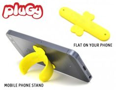 Genius!Can be a stand for your cell phone!! Find it on PlugyPromotion.com