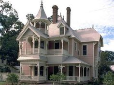73e9a46a Beautiful old home in Lake City, Florida. The Henderson House was built in  1891