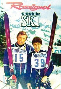 Winter 1966/67. First world cup in history: Nancy Greene and Jean-Claude Killy, first holders of the famous crystal globe. A double success in gold for legendary skis: the Stratos!